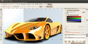 Inkscape Ekran Görüntüsü
