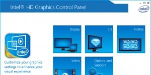 Intel Graphics Driver for Windows Ekran Görüntüsü