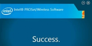 Intel PROSet/Wireless Software and Drivers Ekran Görüntüsü