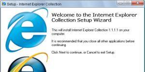 Internet Explorer Collection Ekran Görüntüsü