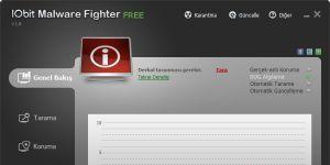 IObit Malware Fighter Ekran Görüntüsü