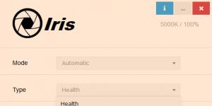Iris Ekran Görüntüsü