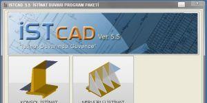 istCAD İstinat Duvarı Ekran Görüntüsü