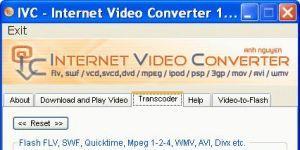 IVC - Internet Video Converter Ekran Görüntüsü