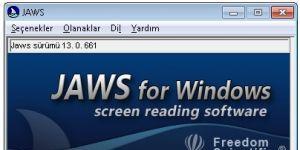 Jaws - Ekran Okuma Programı Ekran Görüntüsü