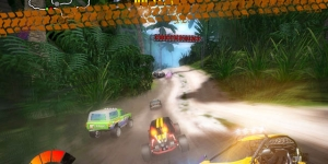 Jungle Racers Advanced Ekran Görüntüsü