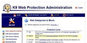 K9 Web Protection Ekran Görüntüsü