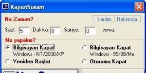 KapanSusam Ekran Görüntüsü