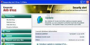 Kaspersky Anti-Virus Ekran Görüntüsü
