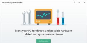 Kaspersky System Checker Ekran Görüntüsü