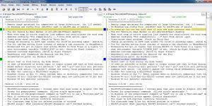 KDiff3 Ekran Görüntüsü