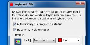 Keyboard LEDs Ekran Görüntüsü