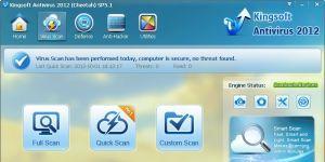 Kingsoft Antivirus Ekran Görüntüsü