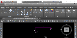 KomozitPro Kompozit Cephe İmalat Çizim ve Optimizasyon Programı Ekran Görüntüsü