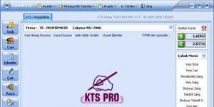 KTS Muhasebe Program� Ekran G�r�nt�s�