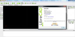LibreCAD Ekran Görüntüsü