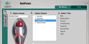 Logitech Setpoint Ekran Görüntüsü