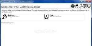 LXiMedia Center Ekran Görüntüsü
