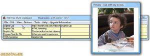 M8 Free Multi Clipboard Ekran Görüntüsü