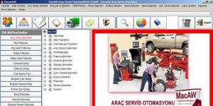 MacroSoft MacAW Araç Servis ve Yedek Parça Otomasyonu Ekran Görüntüsü