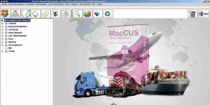 MacroSoft MacCUS Gümrük Muhasebe Otomasyonu Ekran Görüntüsü
