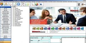 MacroSoft MacMar Market Programı Ekran Görüntüsü
