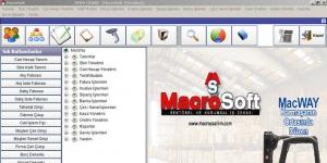 MacroSoft MacWAY  Toptancı İş Yönetimi Ekran Görüntüsü