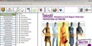 MacTEX Tekstil Perakende ve Zincir Mağaza Yönetimi Ekran Görüntüsü