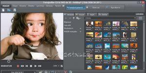 MAGIX Fotoğraflar CD & DVDde Ekran Görüntüsü