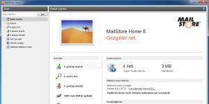 MailStore Home Ekran Görüntüsü
