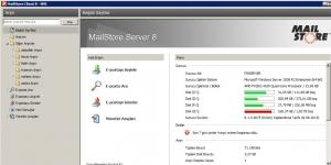 MailStore Server Ekran Görüntüsü