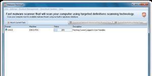 EMCO Malware Destroyer Ekran Görüntüsü