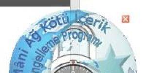 M�ni A� K�t� ��erik Engelleme Program� Ekran G�r�nt�s�