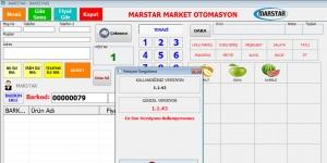 MARSTAR Barkodlu Satış Programı Ekran Görüntüsü