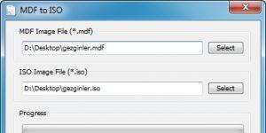 MDF to ISO Ekran Görüntüsü