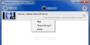 MediaHuman YouTube to MP3 Ekran Görüntüsü