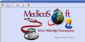 Medicosoft İşyeri Hekimliği Otomasyonu Ekran Görüntüsü