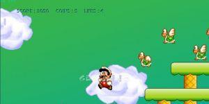 Mega Mario Ekran Görüntüsü