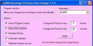 Messenger Pictures Auto Ekran Görüntüsü