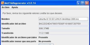 MetFileRegenerator Ekran Görüntüsü