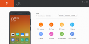 Mi PC Suite Ekran Görüntüsü