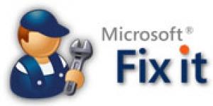 Microsoft Fix It Ekran Görüntüsü