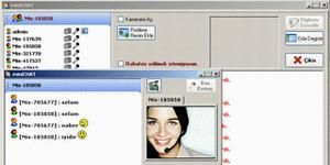 miniCHAT G�r�nt�l� & Sesli Chat Program� Ekran G�r�nt�s�