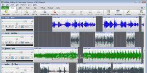 MixPad Ekran Görüntüsü