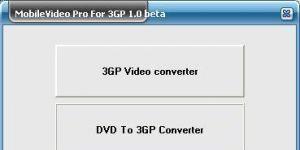 Mobilevideo Pro for 3GP Ekran Görüntüsü