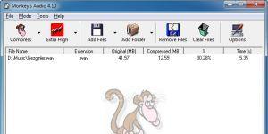 Monkey's Audio Ekran Görüntüsü