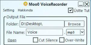 Moo0 VoiceRecorder Ekran Görüntüsü