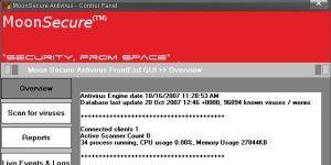 Moon Secure Antivirus Ekran Görüntüsü
