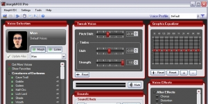 MorphVOX Pro Ekran Görüntüsü