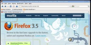 Mozilla Firefox Linux Ekran G�r�nt�s�